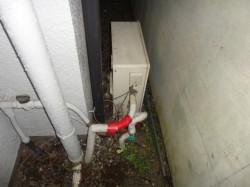 リンナイ製ガス給湯器近接タイプ
