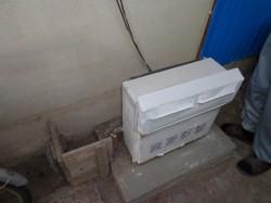 屋外式ガスふろがま浴室近接タイプ
