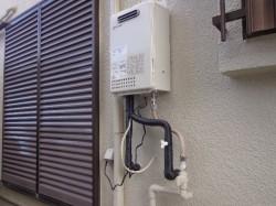 ノーリツ製ガス給湯器GQ-1637WE