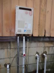 TOTO製ガス給湯器