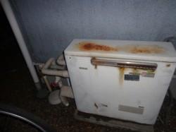 リンナイ製ガス給湯器SA16