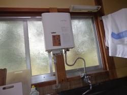 リンナイ製小型湯沸器
