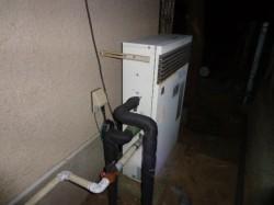 ノーリツ製ガス給湯器GRQ-1601