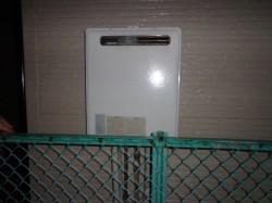 リンナイ製ガス給湯器RUF-V1610SAW-1