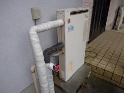 ノーリツ製ガス給湯器GRQ-162