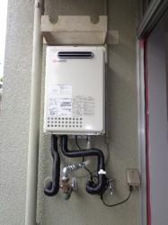 ノーリツ製ガス給湯器GQ-2037WS