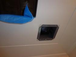 浴室天井埋め込み型換気扇