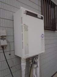 パーパス製ガス給湯器SP166SZR