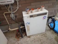 パーパス製ガス給湯器FP204SZR