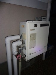 ノーリツ製ガス給湯器GRQ-2416AX