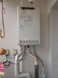 ノーリツ製ガス給湯器GQ-1612WT