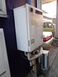 ノーリツ製ガス給湯器GT1612SAWX