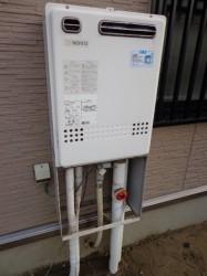 ノーリツ製ガス給湯器GT-2422AWX