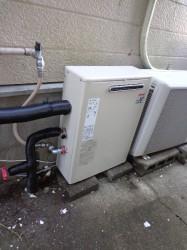 リンナイ製ガス給湯器RUX-V1616G-E