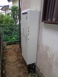 屋外ガス給湯器