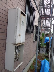 松下(パナソニック)製ガス給湯器GJ-C24T1