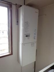 リンナイ製ガス給湯器RUX-V1615SFFBA-E