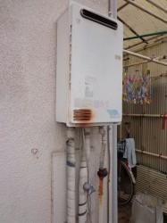 ノーリツ製ガス給湯器GQ-242W