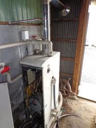 ノーリツ製石油給湯機OTX-310FV