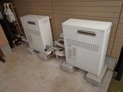 長府製ガス給湯器GFK-2414WX