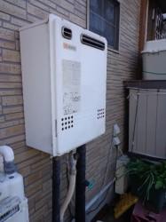 ノーリツ製ガス給湯器GT-2422SAWX