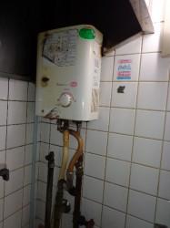 リンナイ製ガス小型湯沸し器