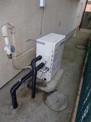 ノーリツ製ガス給湯器GRQ-2450SAX-2