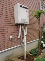 リンナイ製ガス給湯器RUF-V2000AW-1