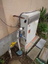ノーリツ製ガス給湯器GRQ-2001SA