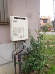 長府製ガス給湯器GFK-200PKA