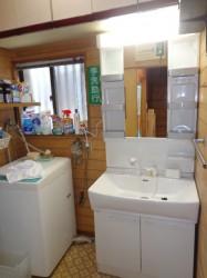 ノーリツ製洗面化粧台LRCM-0756H/W+LSAB70AWN1B