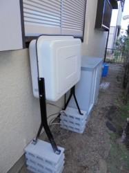 ノーリツ製暖房用灯油タンクFT-90S