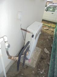 ノーリツ製ガス給湯器GRQ-2001A