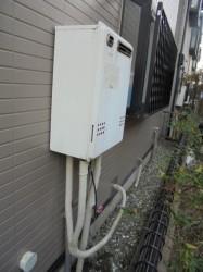 ノーリツ製ガス給湯器GT-2427AW