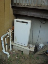 ノーリツ製ガス給湯器GRQ-2010AX