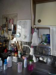 リンナイ製小型湯沸し器RUS-520