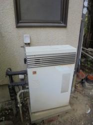 ノーリツ製ガス給湯器GRQ-1601A