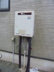 リンナイ製ガス給湯器RUF-V2000SAW