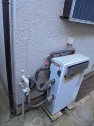 ノーリツ製ガス給湯器GEQ-1600A
