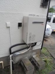 リンナイ製ガス給湯器RUF-A1615SAW(A)
