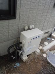 ノーリツ製ガス給湯器GT-2412SAWX