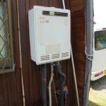 長柄町でリンナイガス給湯器RUF-A1615SAW(A)へ交換。