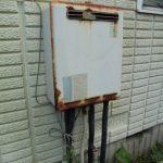 白子町でリンナイ製ガス給湯器RUF-A2005SAW(A)へ取替え。
