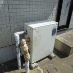 香取市でノーリツ製石油給湯器エコフィールに取替。