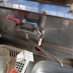 茂原市でキッチン用水栓の取替