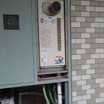 茂原市のマンションで給湯器の取替。