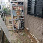 白井市でエコキュートからガス給湯器エコジョーズへ取替