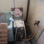 成田市の県営住宅でバランス釜の取替。