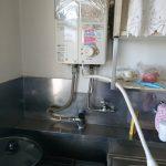 千葉市美浜区でガス瞬間湯沸かし器の取替。