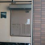 市川市でガス給湯暖房用熱源機RUFH-A2400AA2-3へ取替。